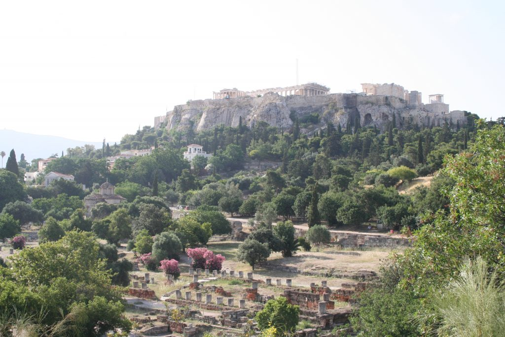 For two summers I received funding to work on an excavation in Athens